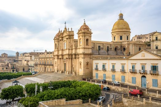 View of Cathedral of Noto