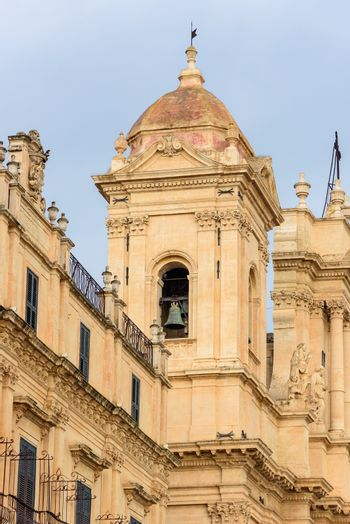 Belltower of the Cathedral of Noto