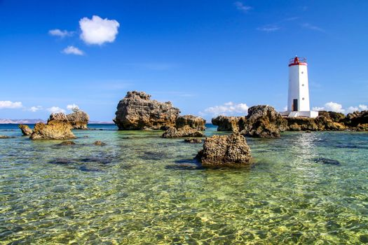 Lighthouse on the northern tip of Madagascar in Antisiranana ( Diego Suarez )