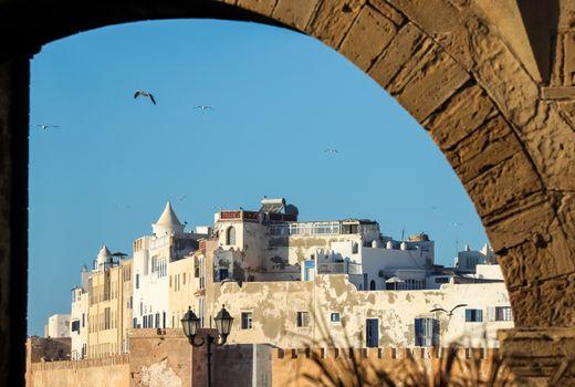 Beautiful old port City of Essaouira, Morocco, northern Africa