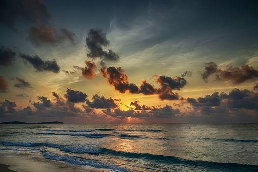 Summer holidays sea and sky