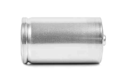 LR20 D size battery isolated on white background with clipping path