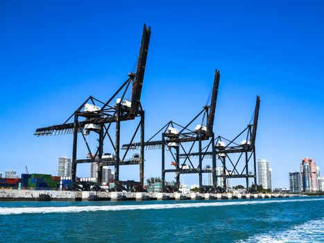 Port of Miami Cranes