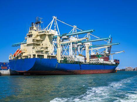 Port of Miami Cargo Ship