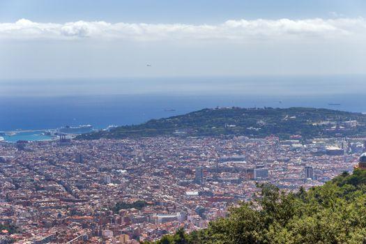 Barcelona skyline Cityscape