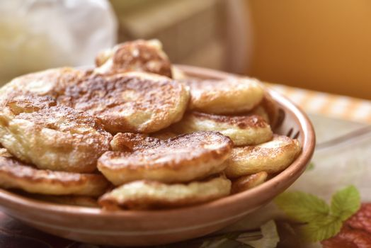 freshly made pancakes. Breakfast ideas.American food,Good morning