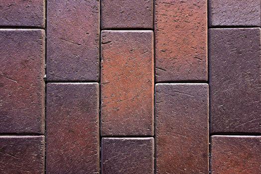 concrete tiled pavement background, texture