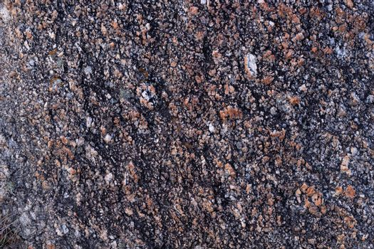 Texture or background of a rock closeup
