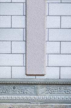 China cement brick wall