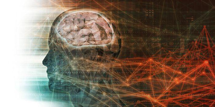 Futuristic Technology with Autonomous AI Brain Tech