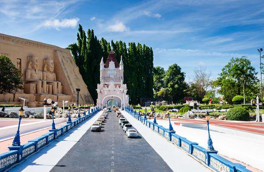Pattaya City, Chonburi Province : Mini Siam miniature park - rep