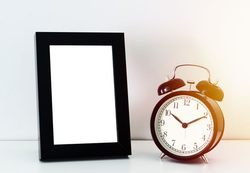 Desktop Frame and Alarm Clock