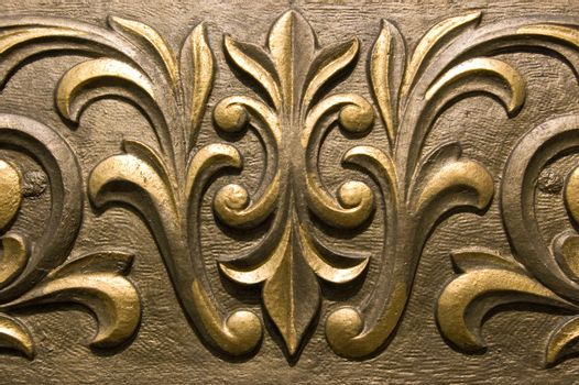 Gilded Plaster moulding