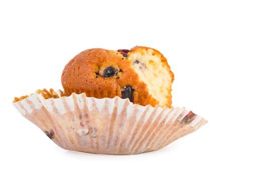Bitten muffin