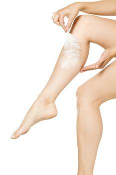 Smooth leg skin