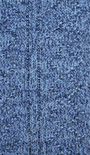 blue wool texture as a background