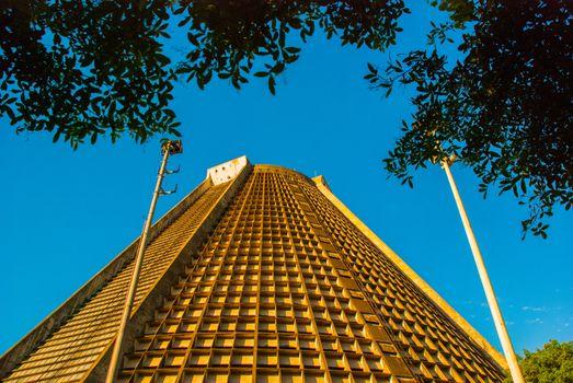 Rio de Janeiro, Brazil: Metropolitan cathedral in Rio de Janeiro, Brazil.