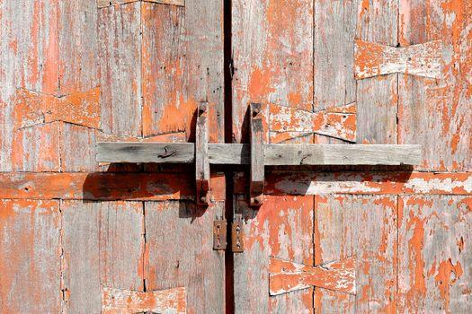 Old Wooden Door Background.