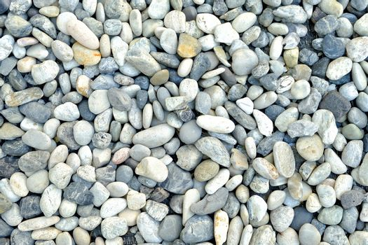 Colorful Pebbles Background.