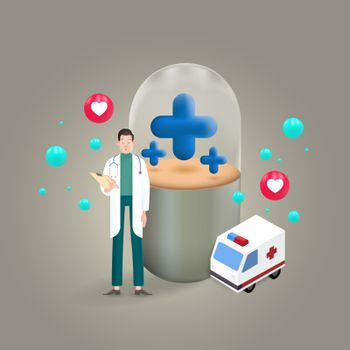 Treatment and development of medicines with the heart of medical services