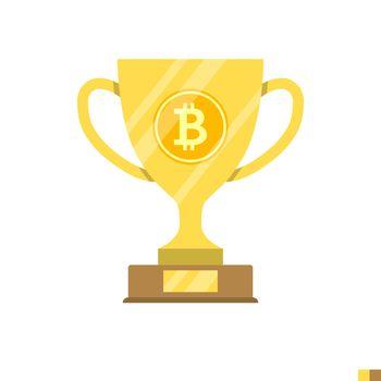 Block Reward Flat Icon