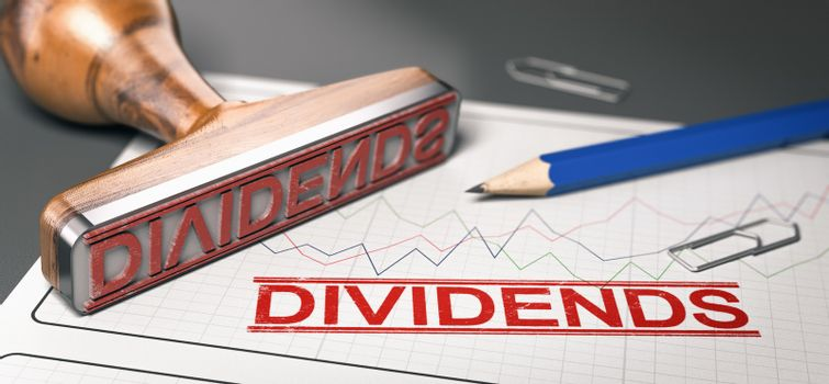 Dividends, distribution of profits by a corporation to sharehol