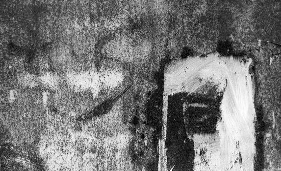 Old black grunge rustic texture