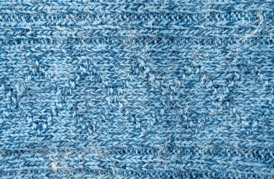 Closeup of the knitted details background