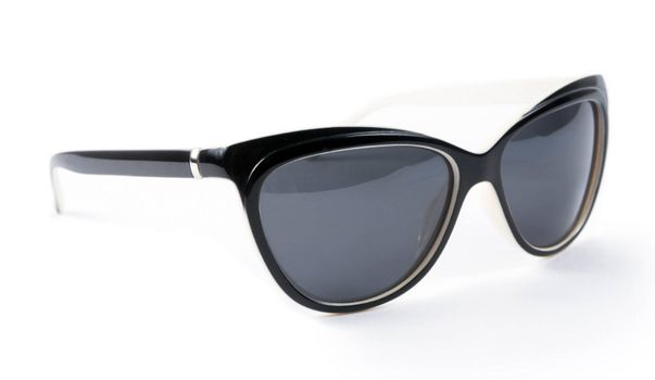Female sunglasses isolated on the white background
