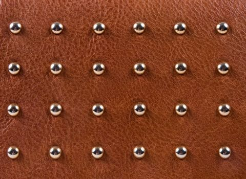 Closeup of the leather texture as a background