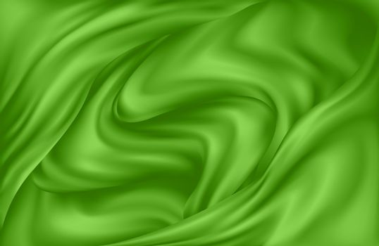 Dynamic background of swirling waves of green juice