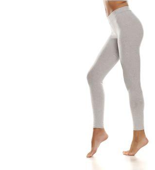 Sporty gray leggings