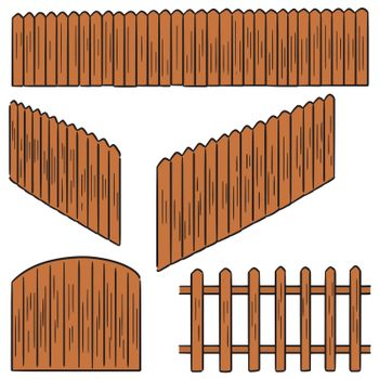 set of fence
