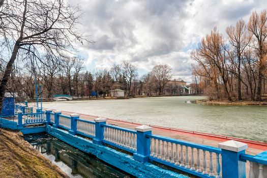Gorky Park in Winter