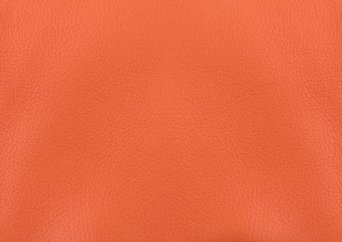 orange leather surface for background