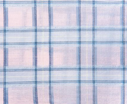Plaid fabric textured background