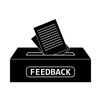 Feedback box inserted in the ballot box