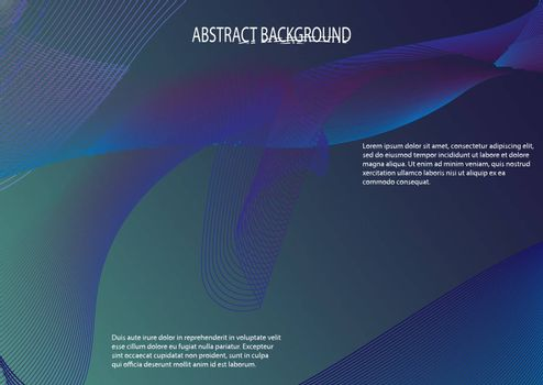 Abstract background for design and decoration, blue color