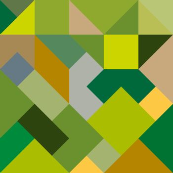 Abstract geometric background in yellow-green tones for design a