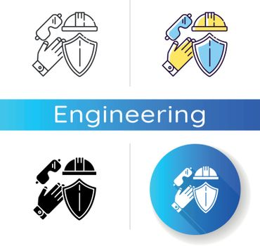 Labor safety icon