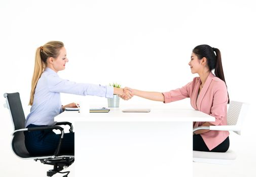 Employer have been invited to sign work contract after successfu