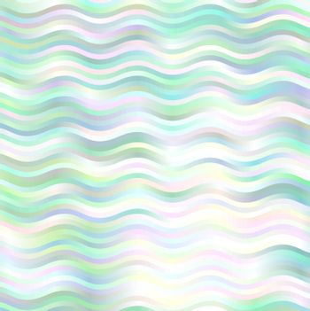 green waves background pattern light and shine