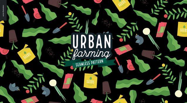 Urban farming and gardening pattern