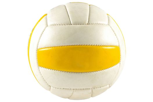 Ball of the handball game isolated on white