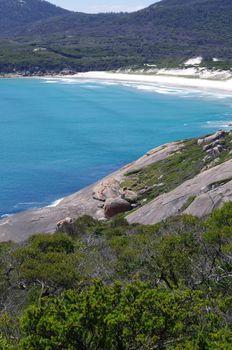 Coast in National park in Australia