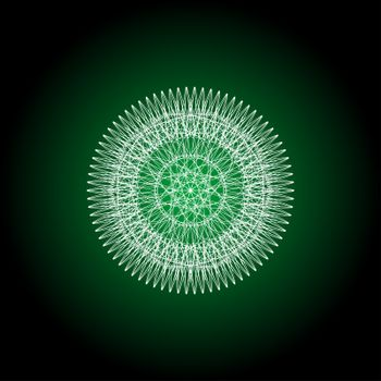 abstract guilloche elements for diploma or certificate. abstract mandala