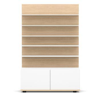 3D rendering presentation furniture white background