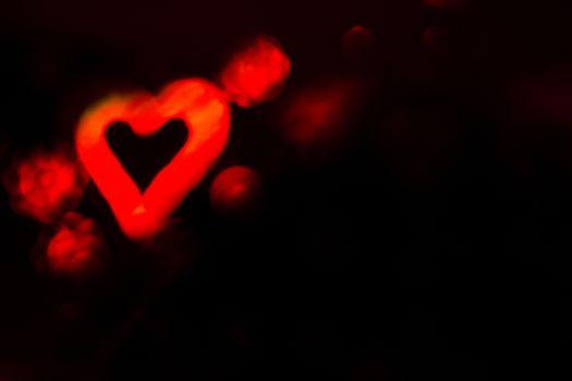 San valentines day. Red Heart by Gema Ibarra