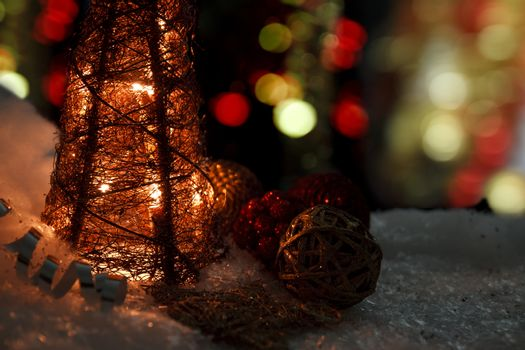 Christmas scenics