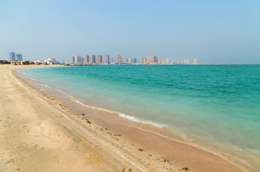 View of Katara Beach